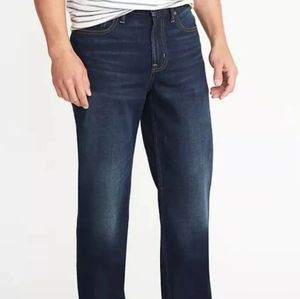 Old Navy Men's Loose Fit Blue Jeans Sz 40 X 34
